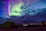 Northern lights remote camping a 4day packraft/bushwacking trip